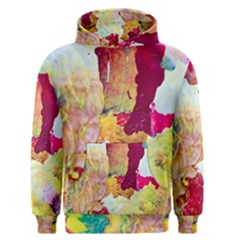 Art Detail Abstract Painting Wax Men s Pullover Hoodie