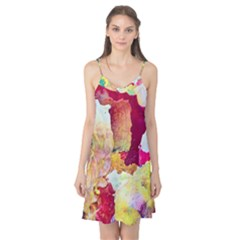 Art Detail Abstract Painting Wax Camis Nightgown