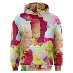 Art Detail Abstract Painting Wax Men s Overhead Hoodie