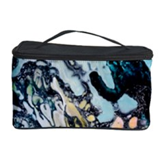 Abstract Structure Background Wax Cosmetic Storage Case