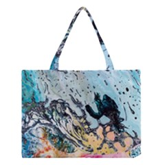 Abstract Structure Background Wax Medium Tote Bag
