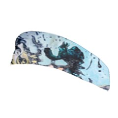 Abstract Structure Background Wax Stretchable Headband