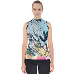 Abstract Structure Background Wax Shell Top