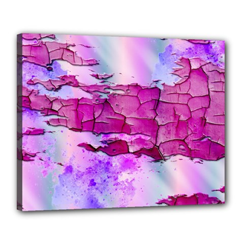 Background Crack Art Abstract Canvas 20  X 16