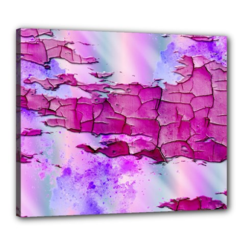 Background Crack Art Abstract Canvas 24  X 20
