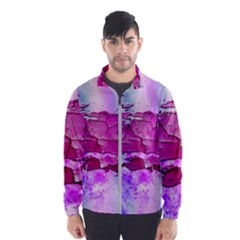 Background Crack Art Abstract Wind Breaker (men)