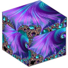 Abstract Fractal Fractal Structures Storage Stool 12
