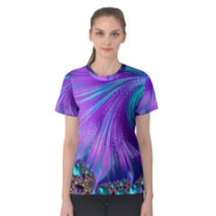 Abstract Fractal Fractal Structures Women s Cotton Tee