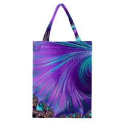 Abstract Fractal Fractal Structures Classic Tote Bag