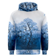 Nature Inspiration Trees Blue Men s Overhead Hoodie