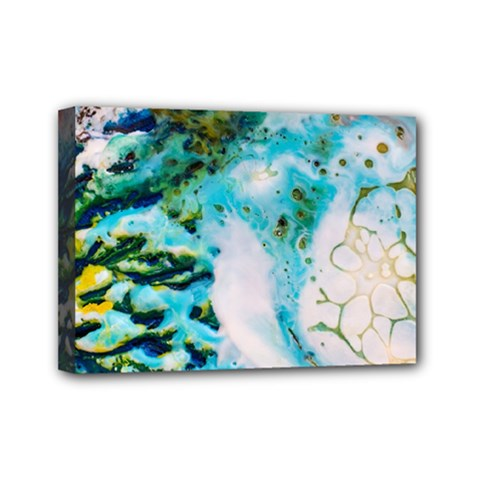 Abstract Art Modern Detail Macro Mini Canvas 7  X 5