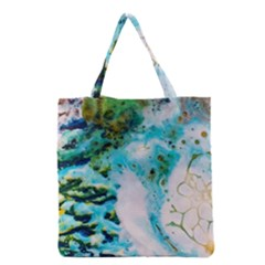 Abstract Art Modern Detail Macro Grocery Tote Bag