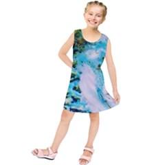 Abstract Art Modern Detail Macro Kids  Tunic Dress