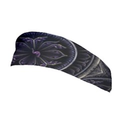 Fractal Abstract Purple Majesty Stretchable Headband