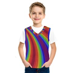 Abstract Pattern Lines Wave Kids  Sportswear