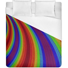 Abstract Pattern Lines Wave Duvet Cover (california King Size)