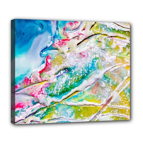 Art Abstract Abstract Art Deluxe Canvas 24  X 20