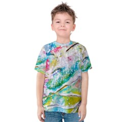 Art Abstract Abstract Art Kids  Cotton Tee