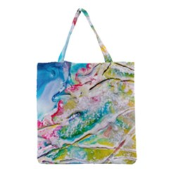 Art Abstract Abstract Art Grocery Tote Bag