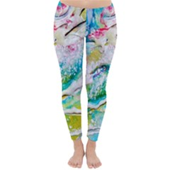 Art Abstract Abstract Art Classic Winter Leggings