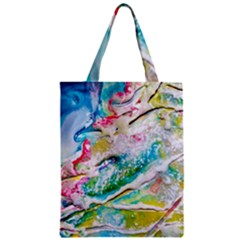 Art Abstract Abstract Art Zipper Classic Tote Bag