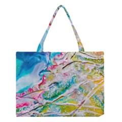 Art Abstract Abstract Art Medium Tote Bag