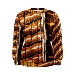 Abstract Architecture Background Women s Sweatshirt