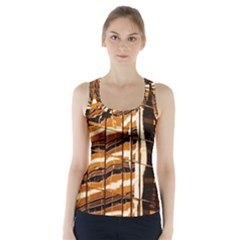 Abstract Architecture Background Racer Back Sports Top