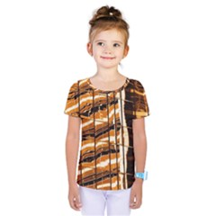 Abstract Architecture Background Kids  One Piece Tee