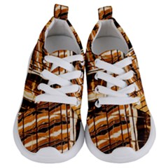 Abstract Architecture Background Kids  Lightweight Sports Shoes