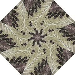 Pattern Decoration Retro Golf Umbrellas