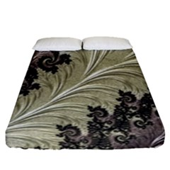 Pattern Decoration Retro Fitted Sheet (queen Size)