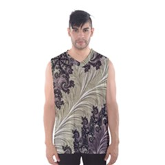 Pattern Decoration Retro Men s Basketball Tank Top