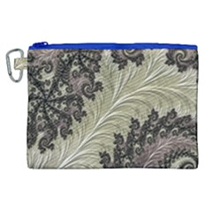 Pattern Decoration Retro Canvas Cosmetic Bag (xl) by Nexatart