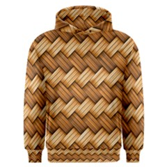 Basket Fibers Basket Texture Braid Men s Overhead Hoodie