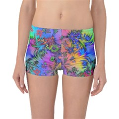 Star Abstract Colorful Fireworks Boyleg Bikini Bottoms