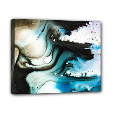 Abstract Painting Background Modern Canvas 10  X 8