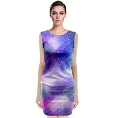 Background Art Abstract Watercolor Classic Sleeveless Midi Dress