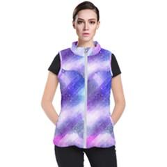 Background Art Abstract Watercolor Women s Puffer Vest by Nexatart