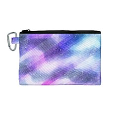Background Art Abstract Watercolor Canvas Cosmetic Bag (medium)