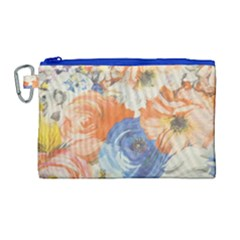 Texture Fabric Textile Detail Canvas Cosmetic Bag (large) by Nexatart
