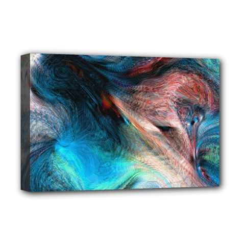 Background Art Abstract Watercolor Deluxe Canvas 18  X 12