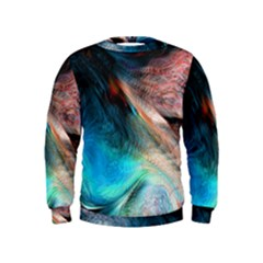 Background Art Abstract Watercolor Kids  Sweatshirt
