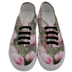 Flowers Roses Art Abstract Nature Men s Classic Low Top Sneakers