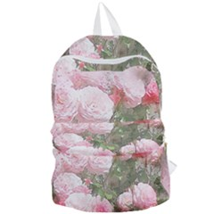 Flowers Roses Art Abstract Nature Foldable Lightweight Backpack by Nexatart