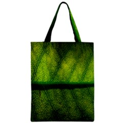 Leaf Nature Green The Leaves Zipper Classic Tote Bag