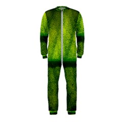 Leaf Nature Green The Leaves Onepiece Jumpsuit (kids)