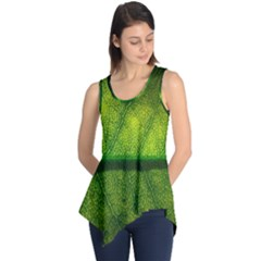 Leaf Nature Green The Leaves Sleeveless Tunic