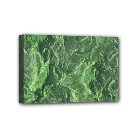 Geological Surface Background Mini Canvas 6  X 4
