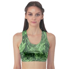 Geological Surface Background Sports Bra